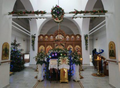 Праздничное убранство нашего храма